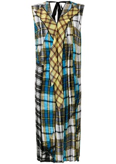 Marc Jacobs sleeveless checked dress