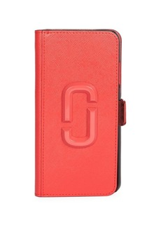 Marc Jacobs Snapshot iPhone XR Leather Phone Case