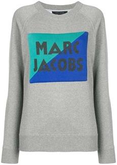 Marc Jacobs spliced logo sweatshirt