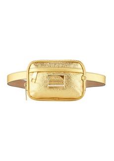 Marc Jacobs Sport Metallic Leather Belt Bag/Fanny Pack