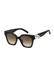 Marc Jacobs Square Acetate Daisy Sunglasses
