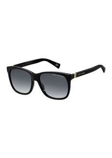 Marc Jacobs Square Gradient Sunglasses