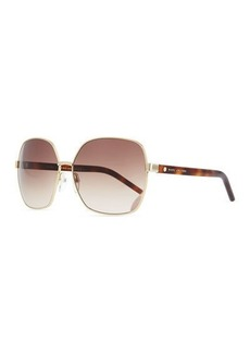 Marc Jacobs Square Metal Sunglasses