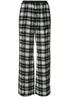 Marc Jacobs straight leg check trousers