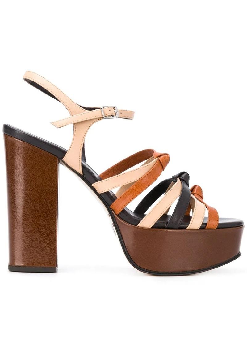 Marc Jacobs strappy platform sandals