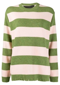 Marc Jacobs stripe print jumper