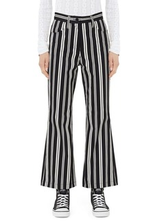 Marc Jacobs Redux Grunge Stripe Stretch Cotton Trousers