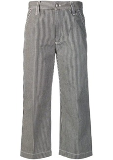 Marc Jacobs striped cropped trousers