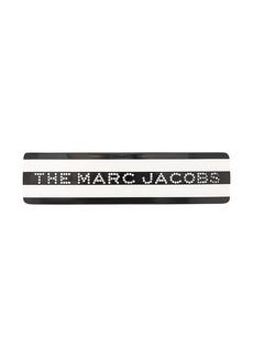 Marc Jacobs striped logo hair clip
