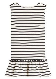 Marc Jacobs Striped Pom Pom Dress