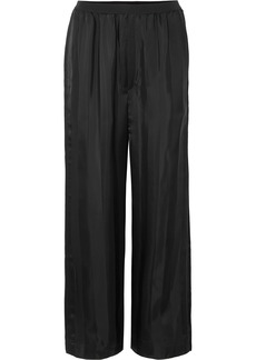Marc Jacobs Striped Satin-jacquard Pants