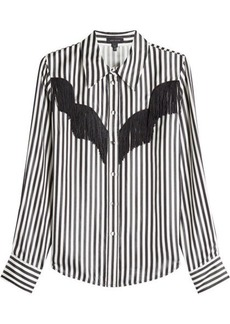 Marc Jacobs Striped Shirt with Fringing