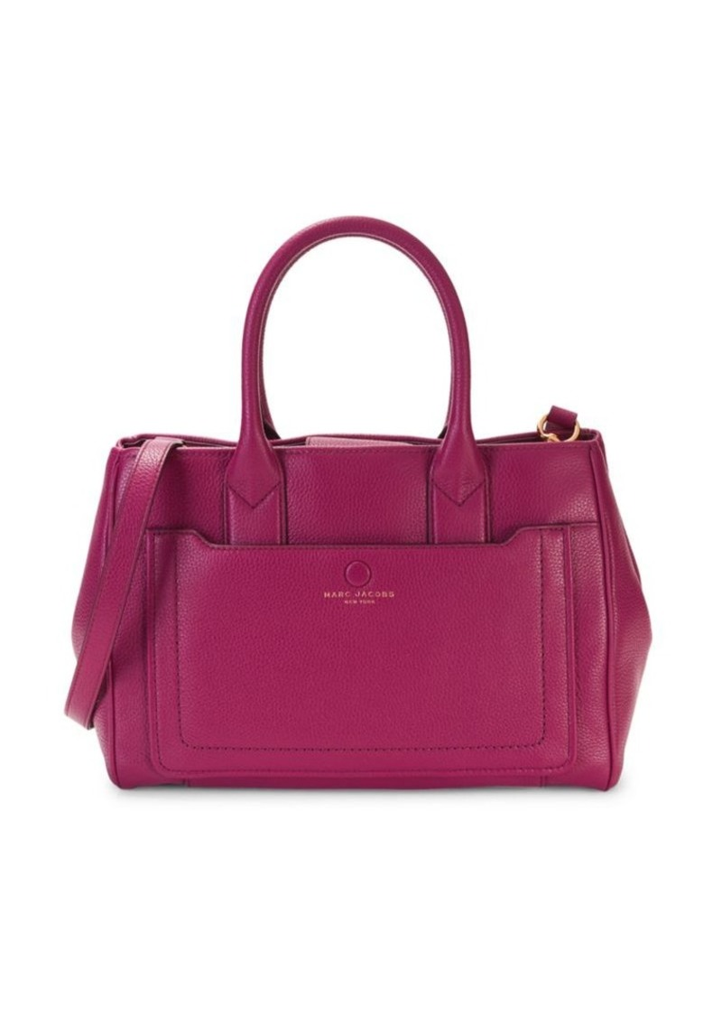 Marc Jacobs Textured Leather Tote