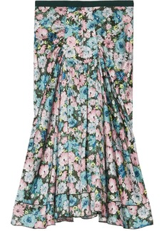 Marc Jacobs The 40's floral-print silk skirt