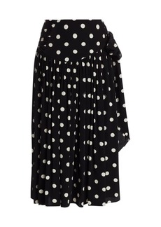 Marc Jacobs The 80s Polka Dot Pleated Skirt