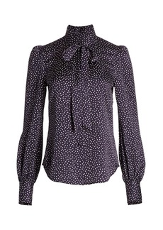 Marc Jacobs The Button-Up Satin Blouse