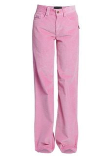 Marc Jacobs The Flared Wide-Leg Corduroy Jeans