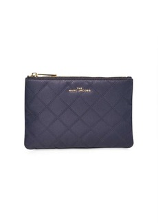 Marc Jacobs diamond quilted make-up bag