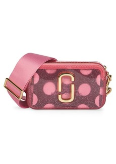 Marc Jacobs Snapshot The Jelly Glitter Coated Leather Camera Bag