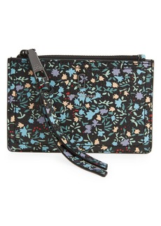Marc Jacobs Floral Leather Wallet