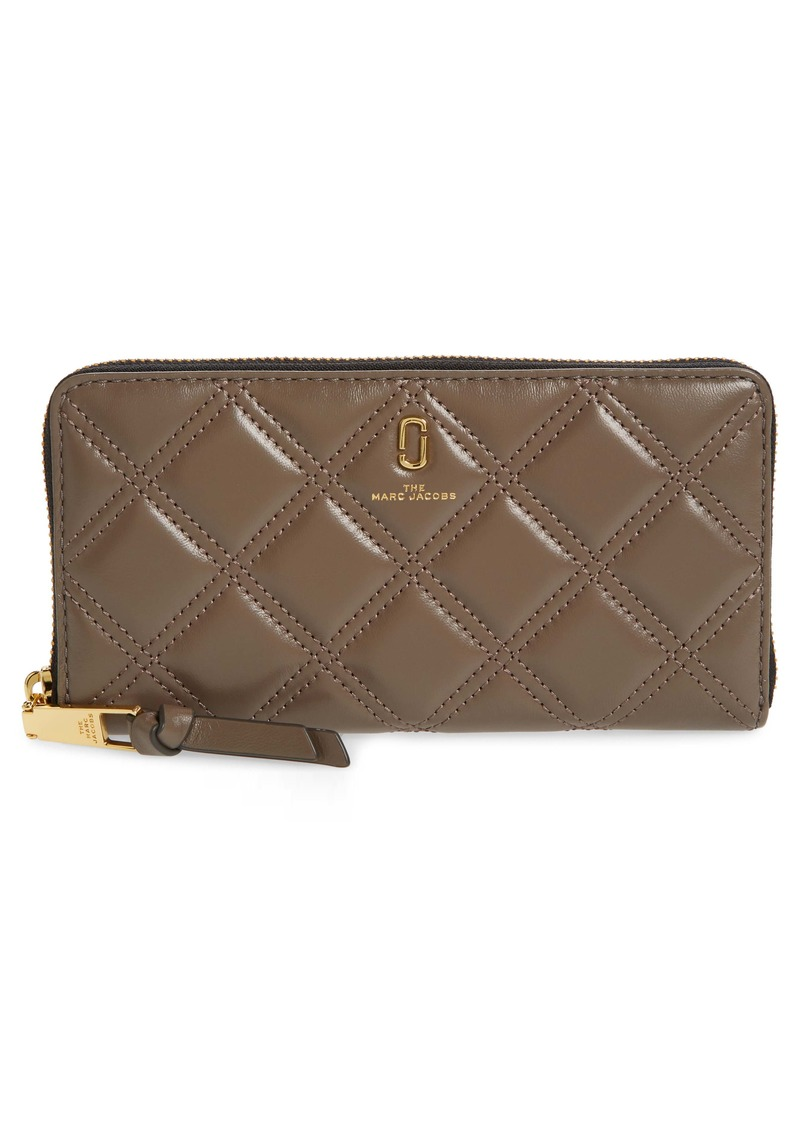 The Marc Jacobs Standard Quilted Leather Continental Wallet