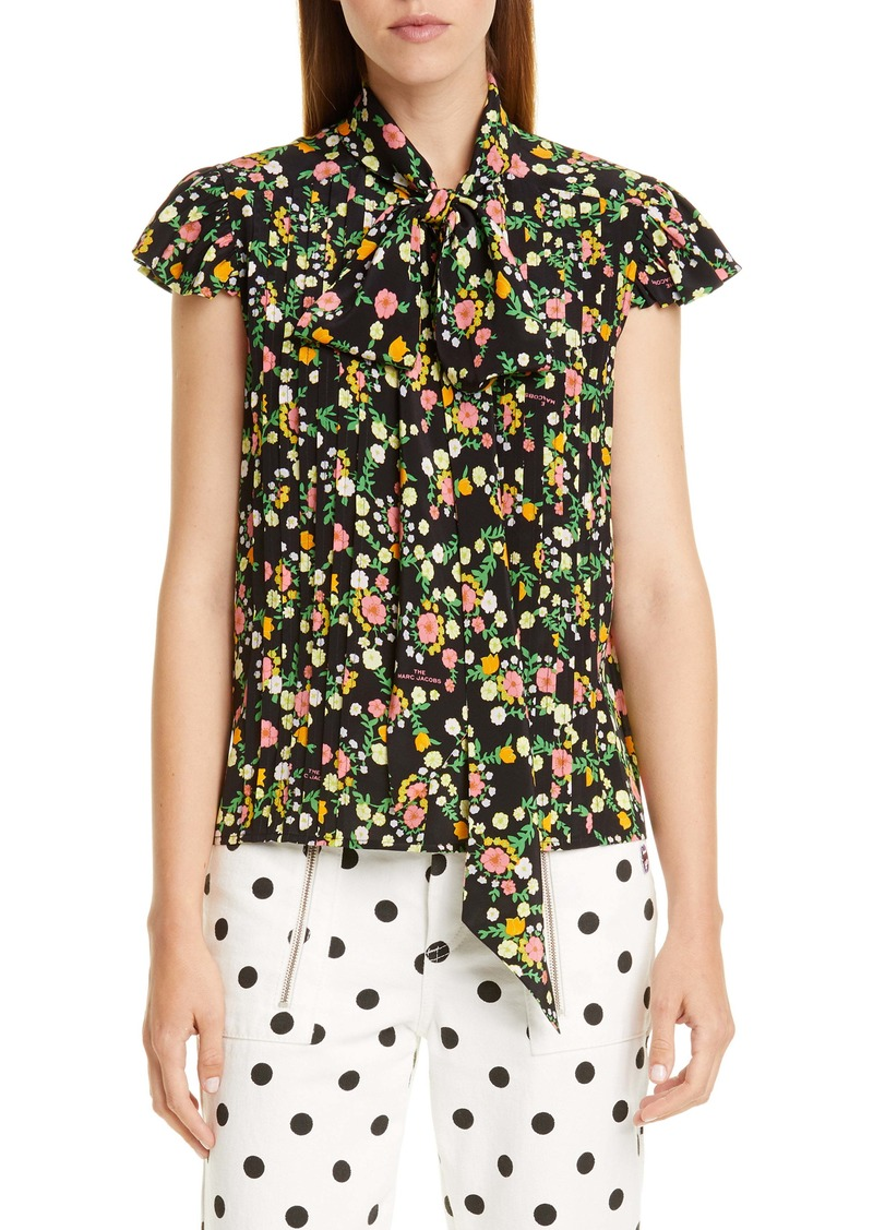 THE MARC JACOBS The Bow Blouse