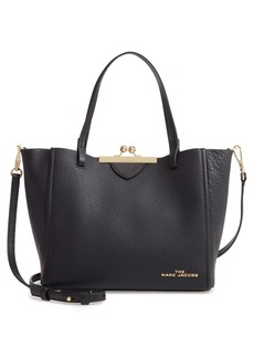 The Marc Jacobs The Kiss Lock Mini Leather Tote