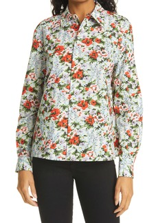 The Marc Jacobs The Print Floral Cotton Shirt