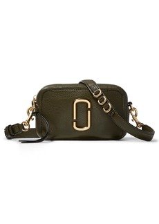 The Marc Jacobs The Softshot 17 Leather Crossbody Bag