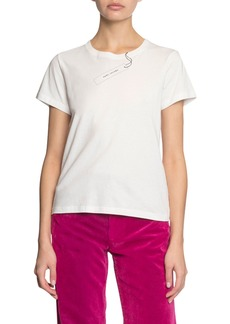 The Marc Jacobs The Tag Short-Sleeve Logo T-Shirt