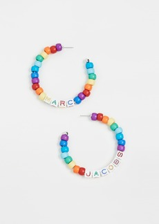 The Marc Jacobs The Toy Blocks Beaded Hoops