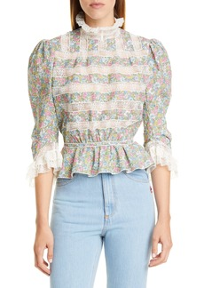 The Marc Jacobs The Victorian Floral Blouse