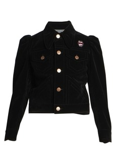 Marc Jacobs The Marchives Velvet Puff Sleeve Jacket