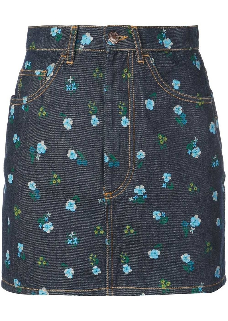 Marc Jacobs The Mini floral print skirt
