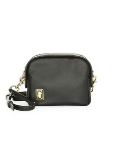 Marc Jacobs The Mini Squeeze Leather Half-Moon Crossbody Bag