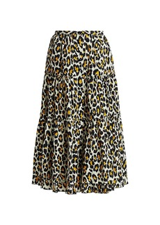 Marc Jacobs The Prairie Leopard Print Skirt