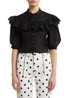Marc Jacobs The Ruffle Blouse