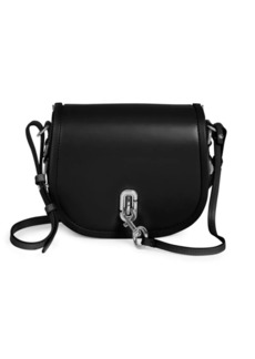 Marc Jacobs The Saddle Bag Leather Crossbody Bag