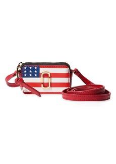 Marc Jacobs the shot flag purse