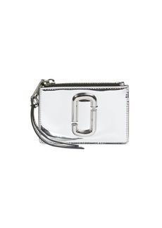 Marc Jacobs The Snapshot Zip Metallic Card Case