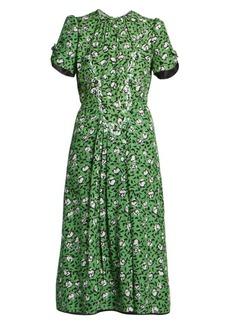 Marc Jacobs The Sofia Loves the 40s Silk Dress