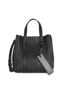 Marc Jacobs The Tag Pebbled Leather Tote