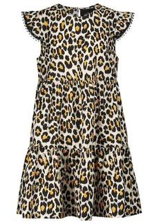Marc Jacobs The Tent leopard-print cotton minidress