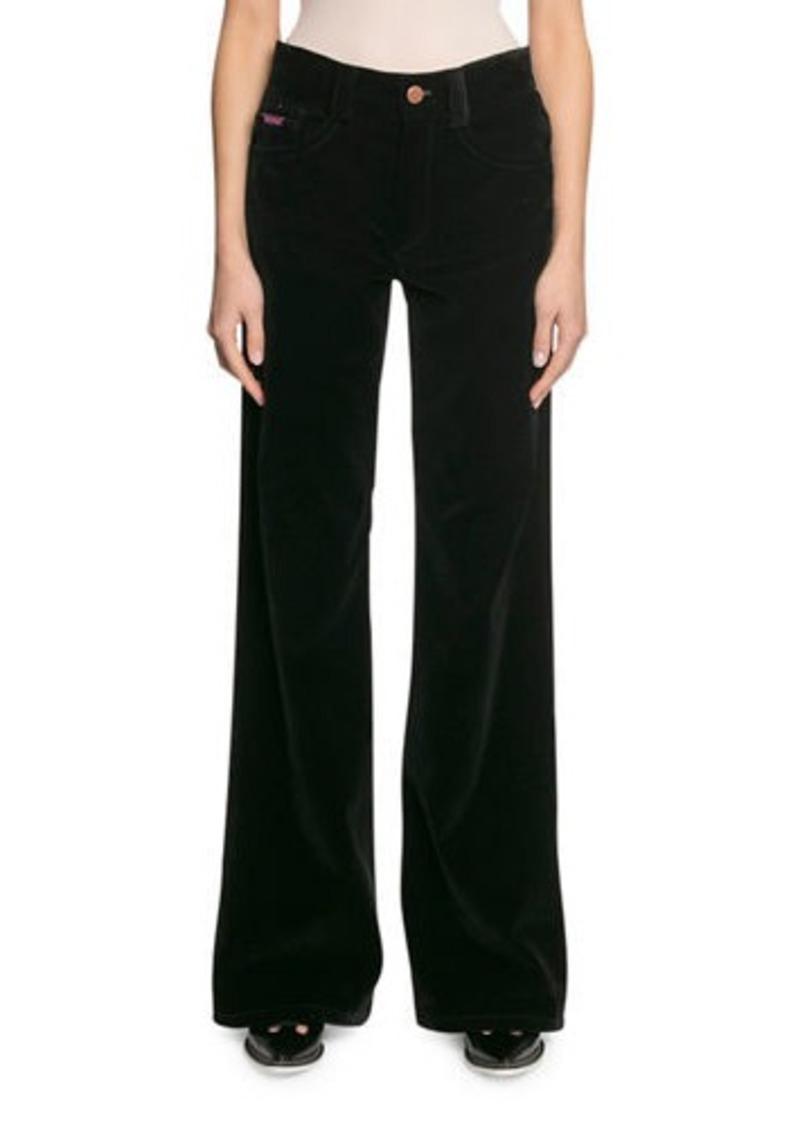 Marc Jacobs The Velveteen Flared Jeans