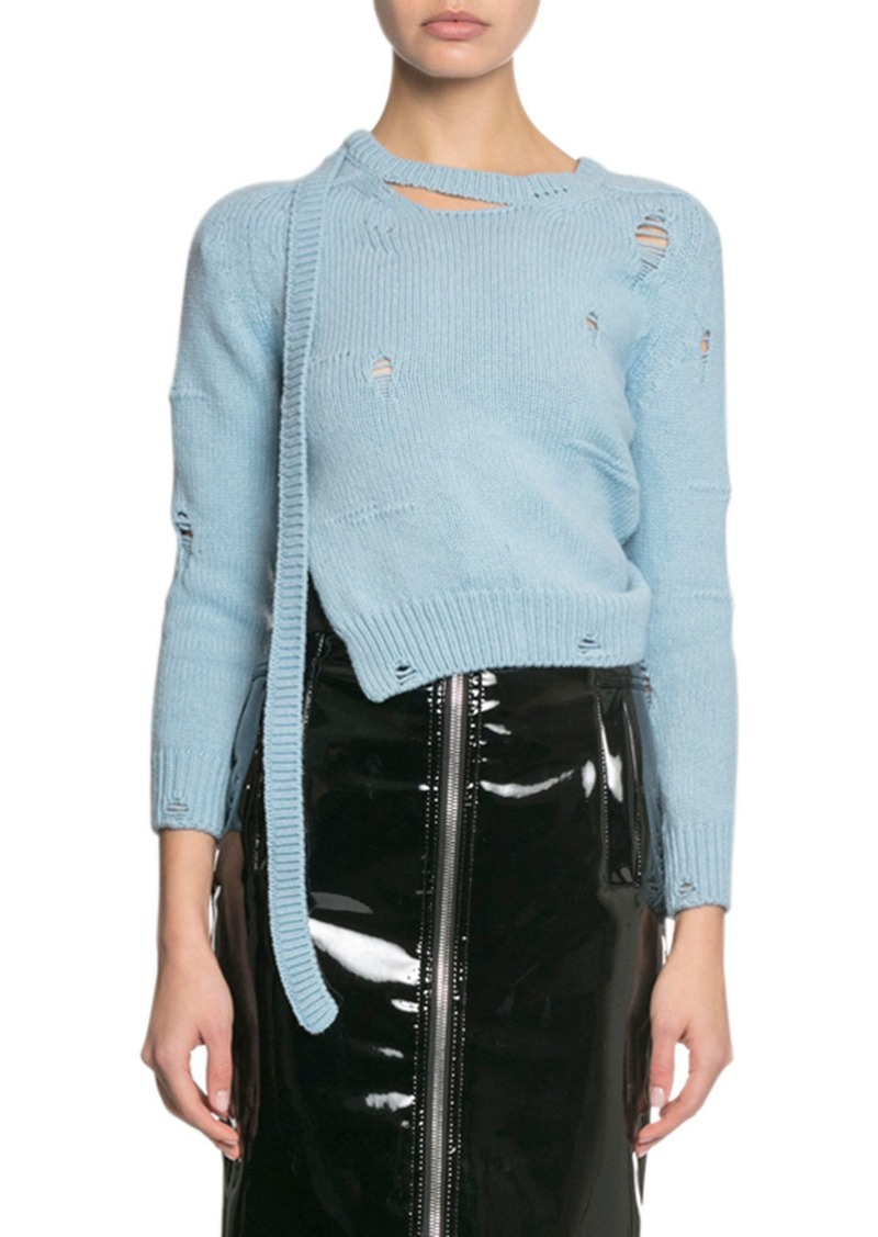 Marc Jacobs The Worn And Torn Sweater