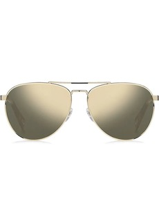 Marc Jacobs tinted aviator sunglasses