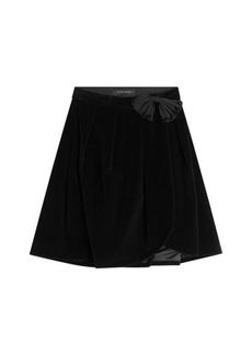 Marc Jacobs Velvet Skirt with Bow