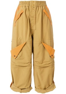 Marc Jacobs wide leg cargo trousers