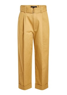 Marc Jacobs Wide Leg Cotton Pants