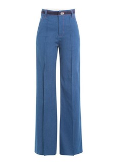 Marc Jacobs Wide Leg Jeans with Contrast Thread